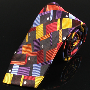 Silk neckties for men